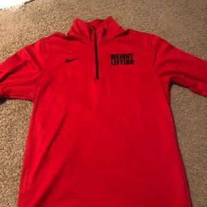 Nike Sweaters - Weightlifting zip up sweater